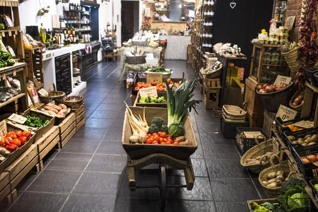 Licencia apertura para una tienda de comida ecológica