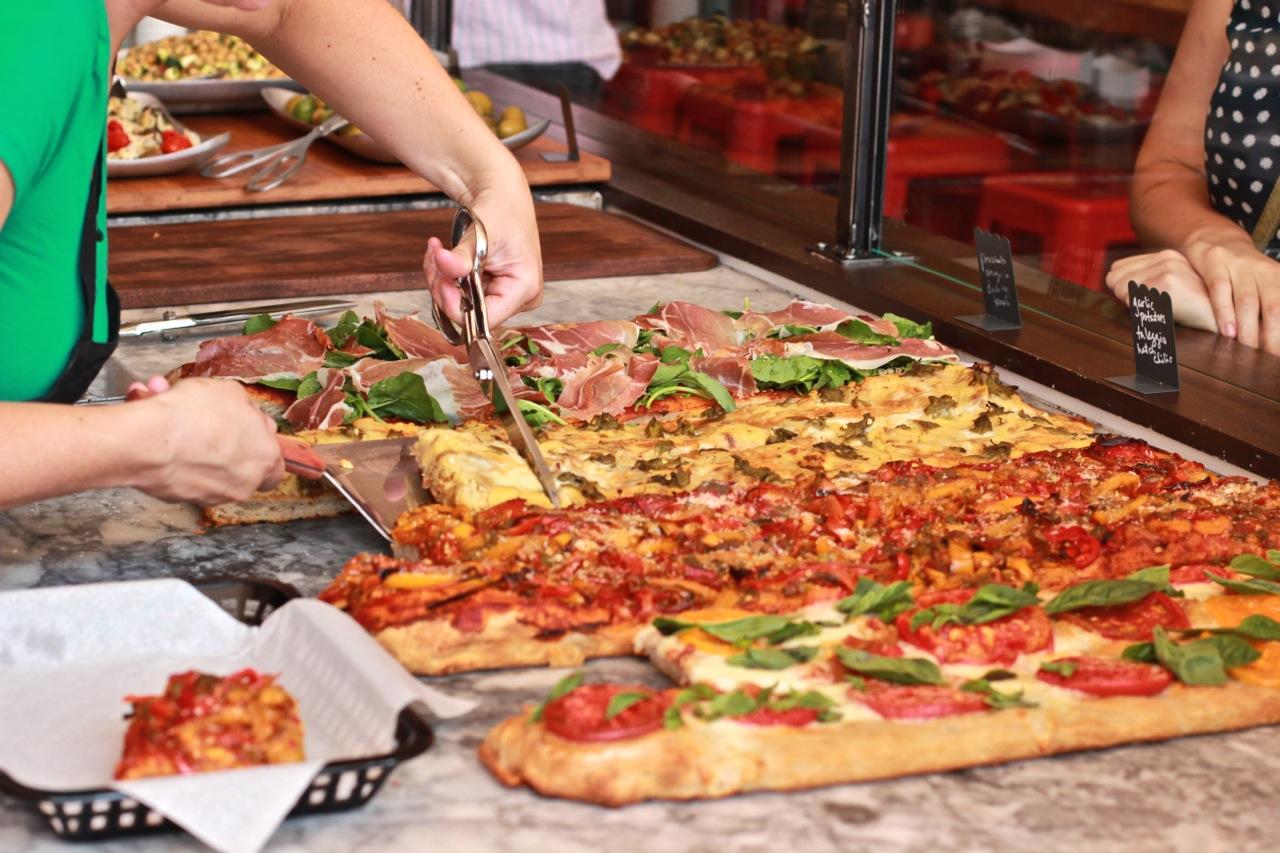 Licencia de apertura de una pizzería.