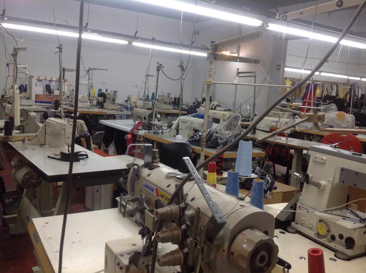 Licencia actividad para un taller de costura