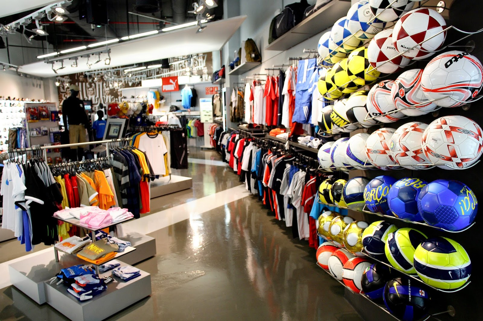 Licencia actividad tienda de deportes